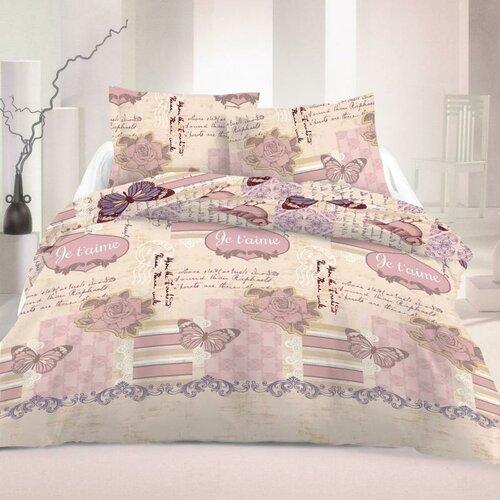 Kvalitex Saténové obliečky Romantic Luxury Collection, 140 x 220 cm, 70 x 90 cm
