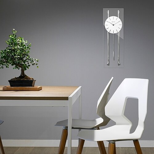 Kyvadlové hodiny Lavvu Pendulum LCT3010 biela, 56 cm