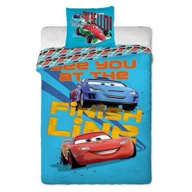 Dětské bavlněné povlečení Cars, 140 x 200 cm, 70 x 90 cm