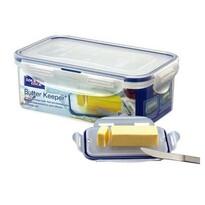 LOCKnLOCK Plastová dóza na maslo, 460 ml, modrá