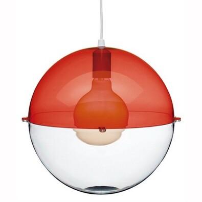 Koziol závěsné svítidlo Orion červená