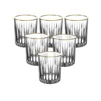 Set pahare whisky Altom Venus gold, 6 piese 310 ml