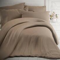 Kvalitex pamut ágynemű, melír bézs, 140 x 200 cm, 70 x 90 cm