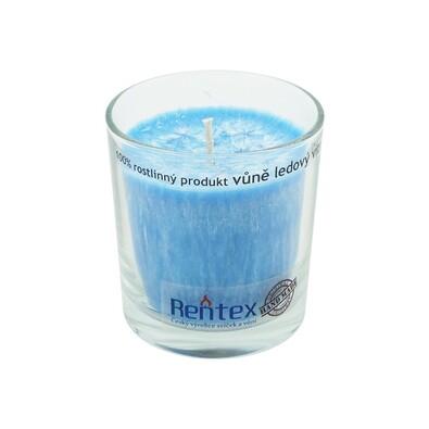 Palmová vonná svíčka ve skle ledový vítr