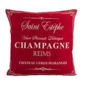 Povlak na polštářek Gobelín Champagne červený , 45 x 45 cm