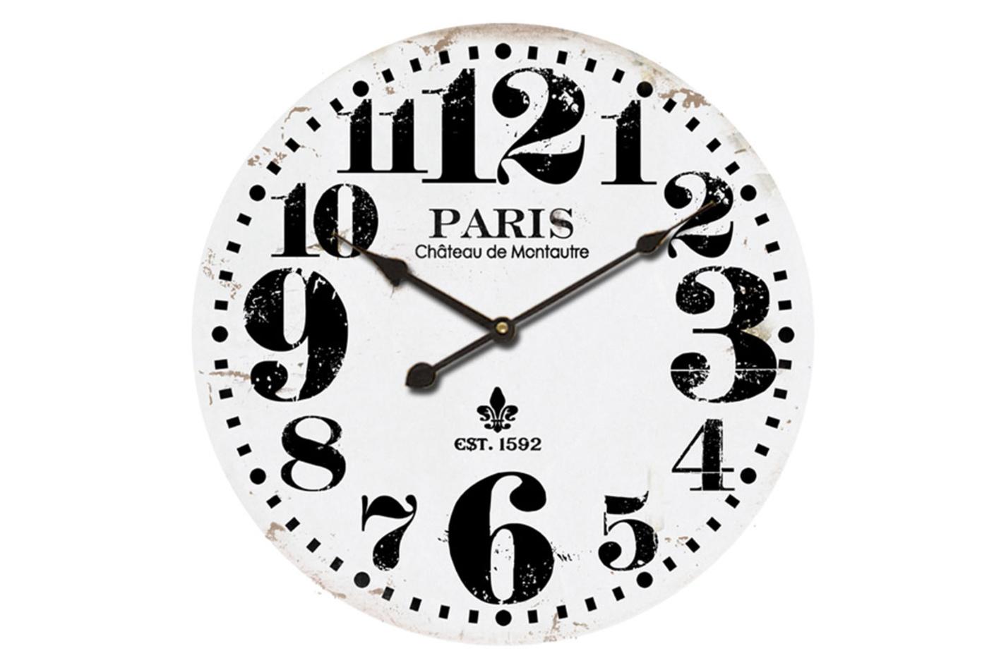 Autronic Nástenné hodiny Paris pr. 58 cm, HA712174