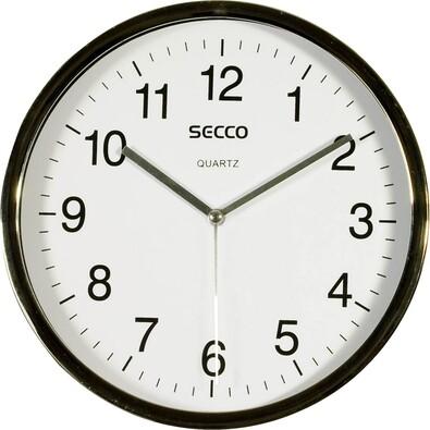 SECCO S TS6050-57 (508) Nástenné hodiny, biela