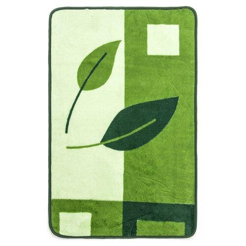 Kúpeľňová predložka Madera Valeso zelená, 45 x 70 cm
