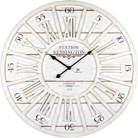 Lowell 21480 Dizajnové nástenné hodiny pr. 60 cm