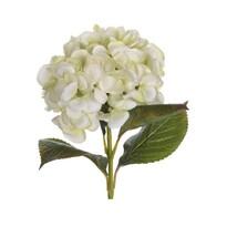Umelá kvetina Hortenzia zelená, 65 cm