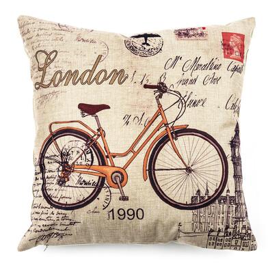 Powłoczka na jasiek Bicycle, 45 x 45 cm