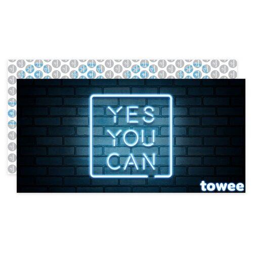 Towee Rychleschnoucí osuška YES YOU CAN, 80 x 160 cm