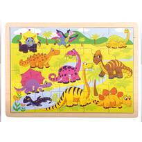 Bino Puzzle Dinozaury