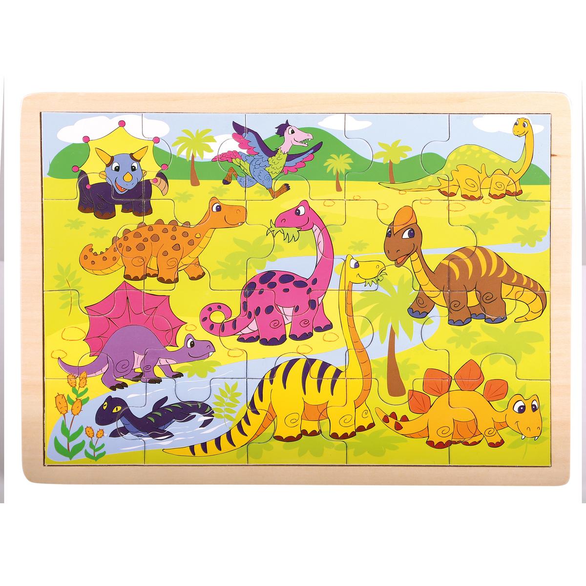 Bino Puzzle, Dinosauři