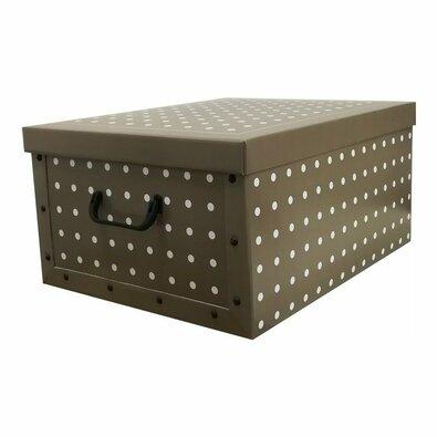 Compactor Skladacia úložná krabica Rivoli, 50 x 40 x 25 cm