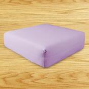 Napínací prostěradlo s lycrou, fialová, 2 ks 90 x 200 cm