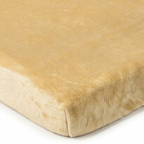 Cearșaf de pat 4Home microflanel, bej, 160 x 200 cm