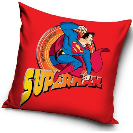 TipTrade Vankúšik Superman red, 40 x 40 cm