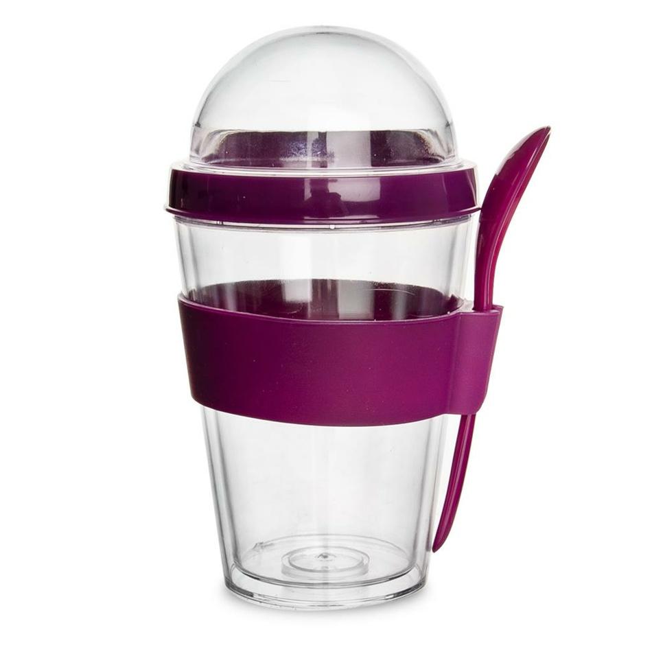 Orion Pohár UH na jogurt s držiakom na lyžičku