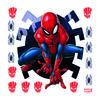 Samolepiaca dekorácia Spiderman, 30 x 30 cm