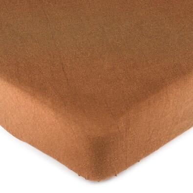 4Home jersey prostěradlo hnědá, 90 x 200 cm