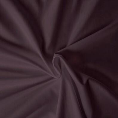 Saténové prostěradlo tmavě hnědá, 100 x 200 cm