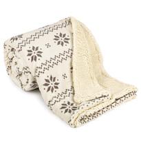 Pătură 4Home Nordic, imitație blăniță, bej, 150 x 200 cm