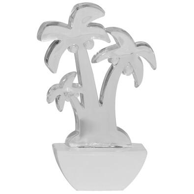 Retlux LED Światełko nocne, palma, niebieski