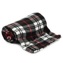 Fleecová deka Black Cube, 150 x 200 cm