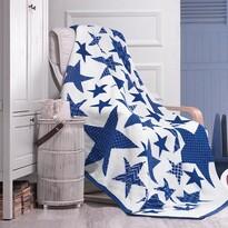 Pătură Matějovský Star Blue, 160 x 220 cm