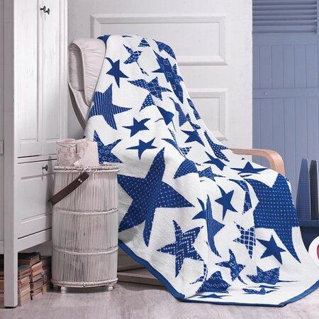 Matějovský Deka Star Blue, 160 x 220 cm