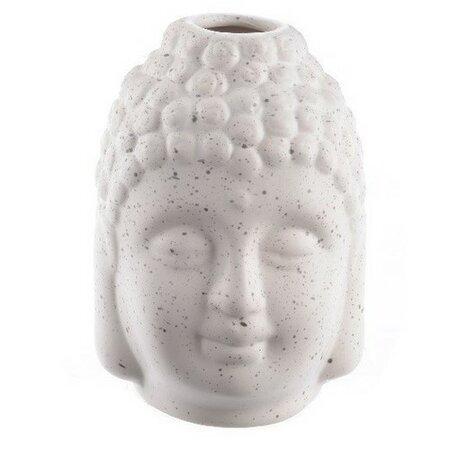 Váza Budha biela, 11,5 cm