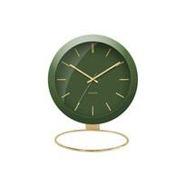 Karlsson KA5832GR Stylowy zegar stołowy, 25 cm
