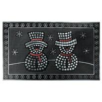 Gumová rohožka Sněhuláci, 40 x 60 cm