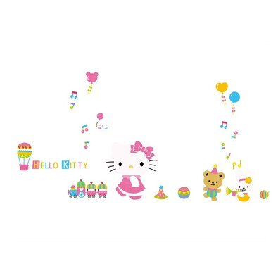 Samolepicí dekorace Hello Kitty XL