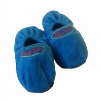 Hřejivé papuče s pohankou UNI, modrá