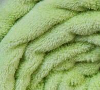 Deka Simonne z mikrovlákna, světle zelená