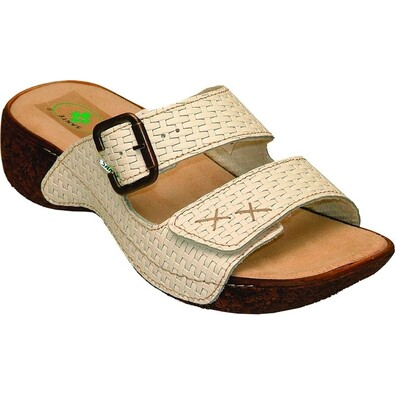 Dámské pantofle, vel. 40 bílé
