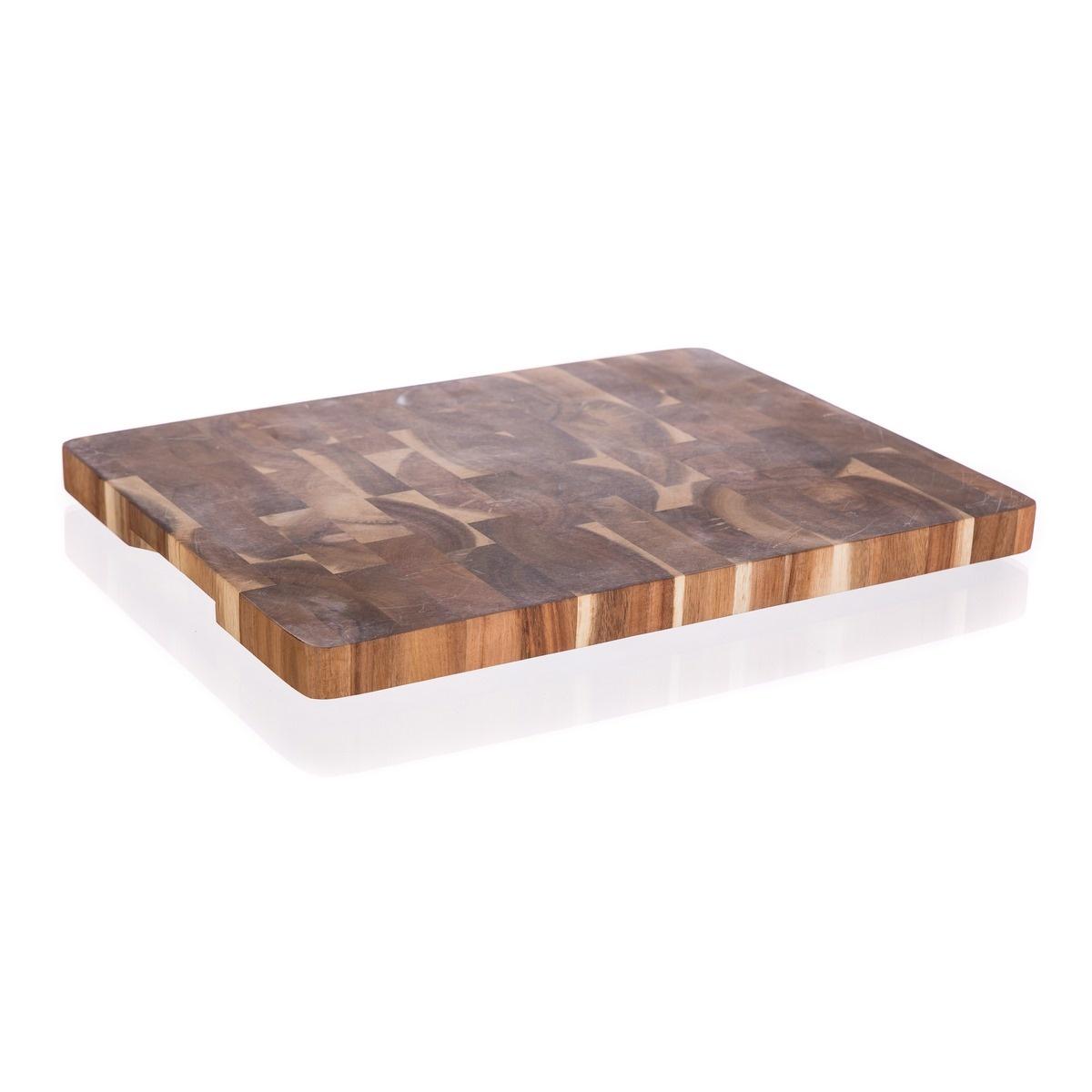 Banquet Doštička krájacia drevená Brillante Acacia 40 x 30 x 3,3 cm