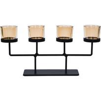 Koopman Świecznik na świeczki tealight Valderas, 37 x 18,5 cm