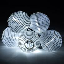 Lampions szolár megvilágítás, 10 LED-es