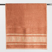 Osuška Bamboo life terakota, 70 x 140 cm