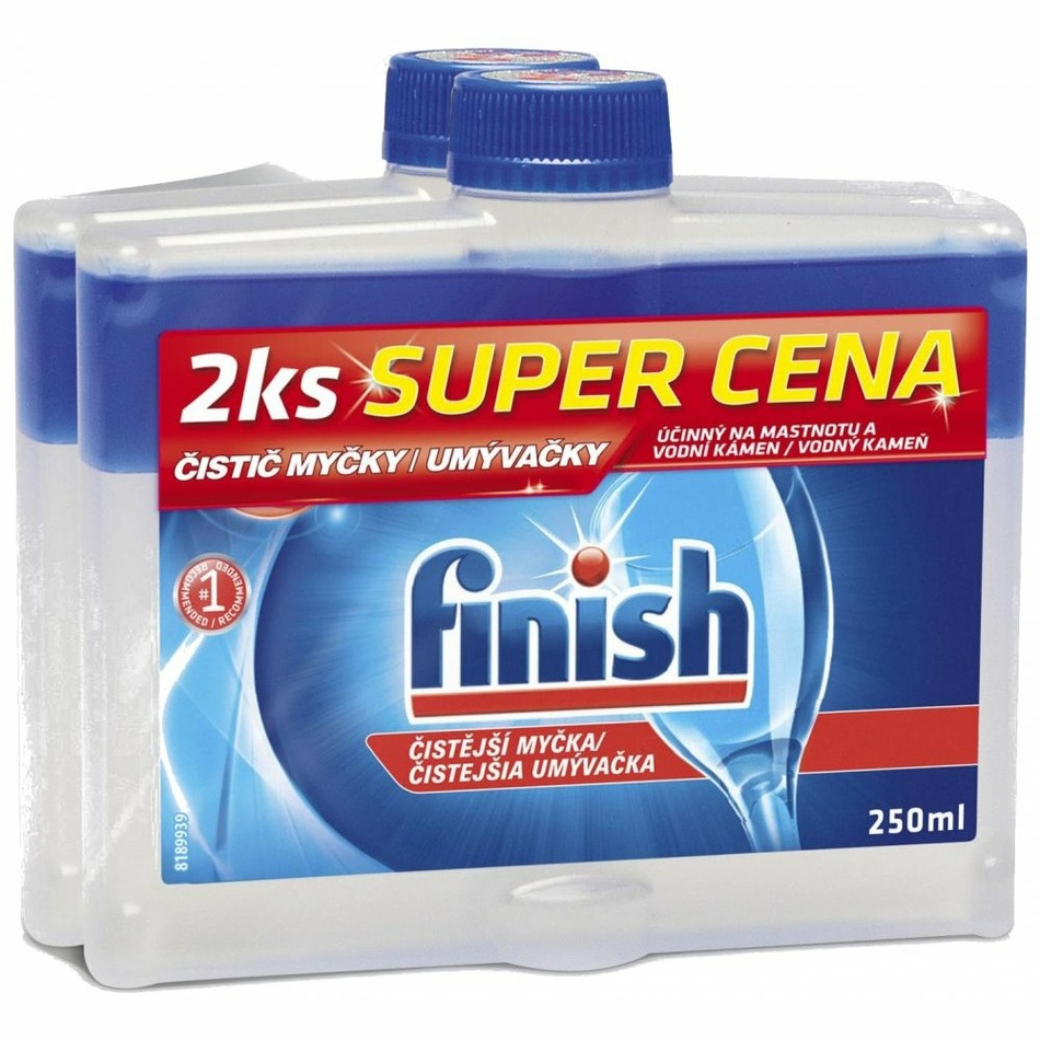 Finish Calgonit čistič myčky DUO 2 x 250 ml
