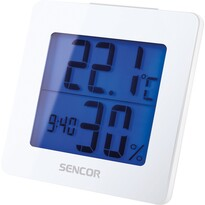 Sencor SWS 1500 W Teploměr s hodinami