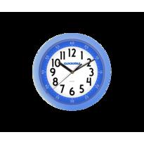 Nástenné hodiny Clockodile modrá, pr. 25 cm