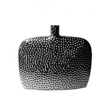 Váza keramická Omega Silver