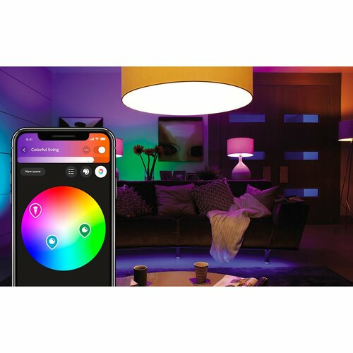 Philips Hue LED žárovka 6 W, 2 ks, barevná
