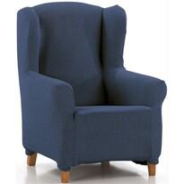 """Petra multielasztikus fotelhuzat, """"füles"""", kék, 70 - 110 cm"""