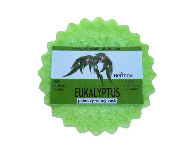 Vonný vosk do aromalap eukalyptus 5 ks