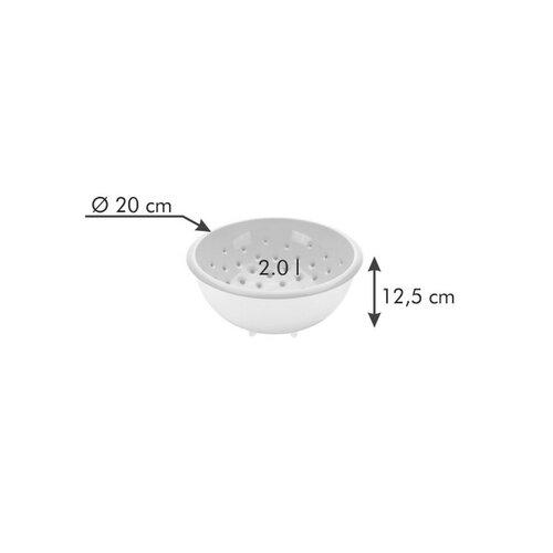 Tescoma VITAMINO cedník s miskou 20 cm